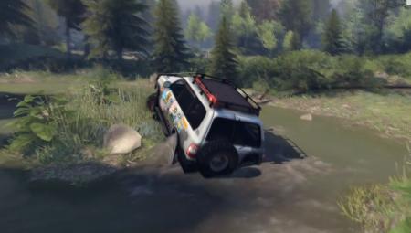 Скачать мод Toyota Land Cruiser для Spintires 2014