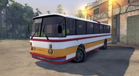 Скачать мод автобус ЛАЗ-699Р для SpinTires 2014
