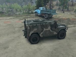 Скачать мод ГАЗ-2974 Тигр для Spintires 2014