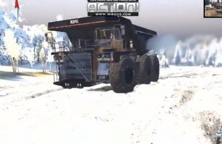 Скачать мод грузовик Caterpillar 6x6 для Spintires 2014