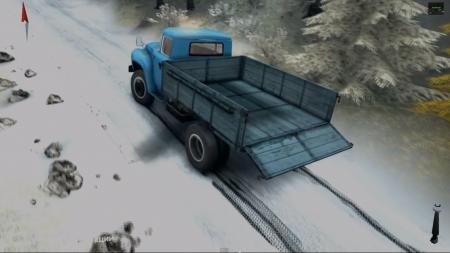 Первый снег v 1.5 RELEASE для SpinTires 2014