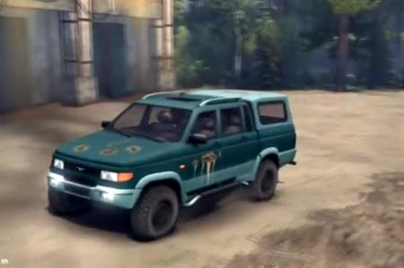 Скачать мод УАЗ-23632 для SpinTires 2014