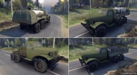 Скачать мод грузовик ЗиЛ-157 v.1.1 для SpinTires 2014