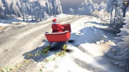 Скачать мод Санта на санях для Spintires 2014