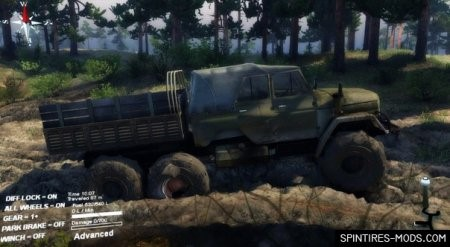 Скачать мод грузовик ЗилУаз для Spintires 03.12.2014