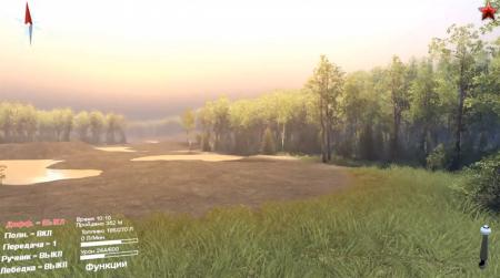 Карта Сахалин для SpinTires 2014