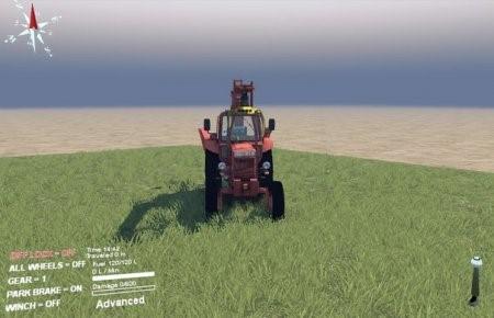 Скачать мод трактор МТЗ 82 для SpinTires 2014