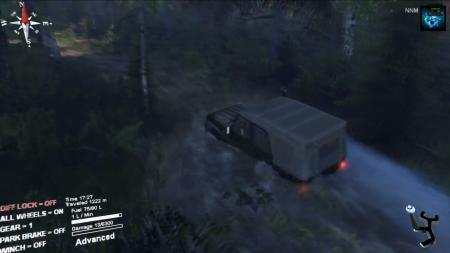 """Скачать мод УАЗ-315195-162 """"Hunter"""" beta для SpinTires 2014"""