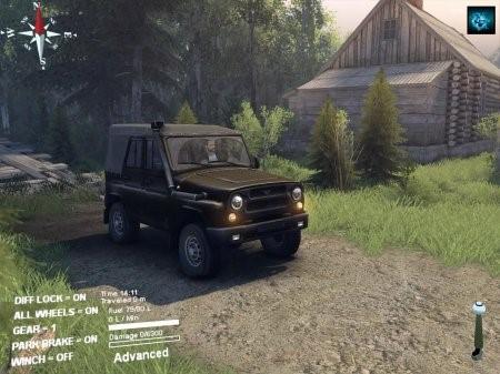 Скачать мод УАЗ-315195-162