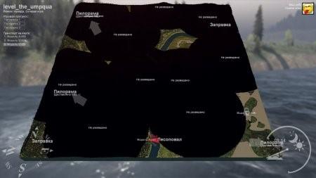 Карта THE UMPQUA для Spintires 2014