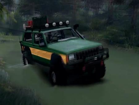 Скачать мод SID Jeep XJ Cherokee для SpinTires 2014