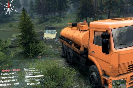 Скачать мод UAZ 469 для Spintires 2014