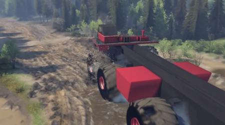 Скачать мод грузовик monster truck для Spintires 2014
