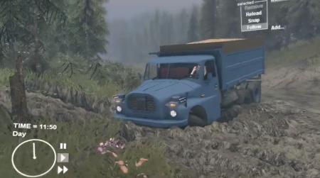 Скачать мод грузовик TATRA 148 для Spintires 2014