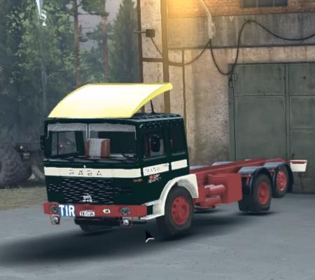 Скачать мод грузовик Raba MAN v2 для SPIN TIRES 2014