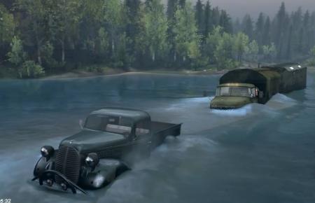 Скачать мод грузовик ЗиЛ-131 v2.0 для Spintires 2014