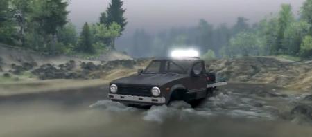 Скачать мод SID 1981 Toyota Hilux для SpinTires 2014