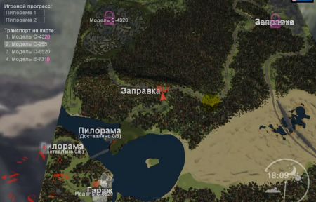 """Карта """"Кatarina"""" для Spintires 03.12.2014"""