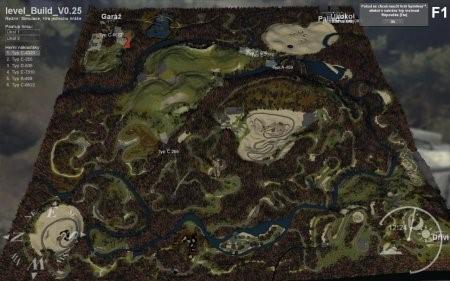 "Карта ""Заброшенные шахты"" для Spintires 2014, 2015"