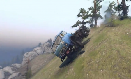 Скачать мод грузовик МАЗ-515 для Spintires 2014