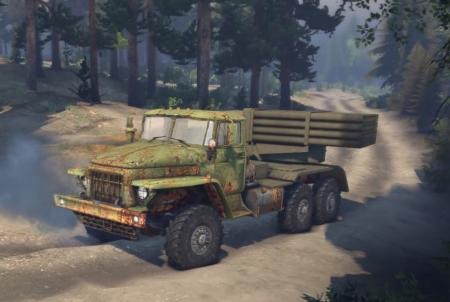 Скачать мод грузовик Урал-375 для Spintires 2014