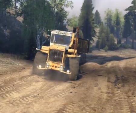 """Скачать мод """"Трактор РАБА 250 v1.0"""" для Spintires 2014"""