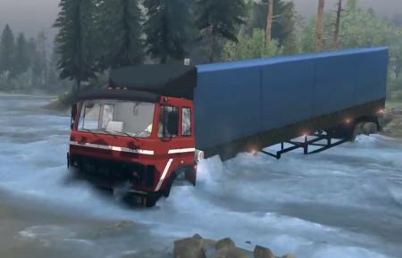 Скачать мод грузовик МАЗ-54322 для Spintires 2014