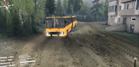 Скачать мод автобус Икарус 280.46 для SpinTires 2014