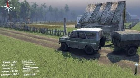 """Карта """"Деревни"""" для версии с редактором 03.12.2014"""