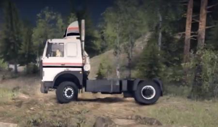 Скачать мод грузовик МАЗ-54324 для Spintires 2014