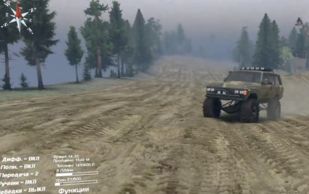 Скачать мод 60 Series Toyota Land Cruiser 1.0 для Spintires 2016