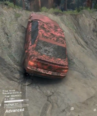 Скачать мод BMW M3 E36 для Spintires 2014