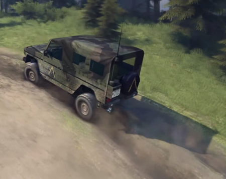 Скачать мод Mercedes-Benz 250GD Wolf для Spintires 2014