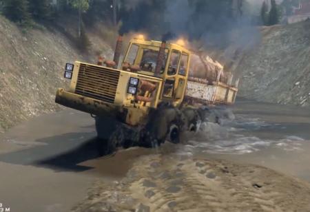 Скачать мод грузовик Gramada для Spintires 04.02.2015