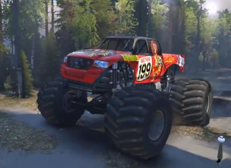 Скачать мод Pastrana Monster Truck версия 1.0 для Spintires 2014