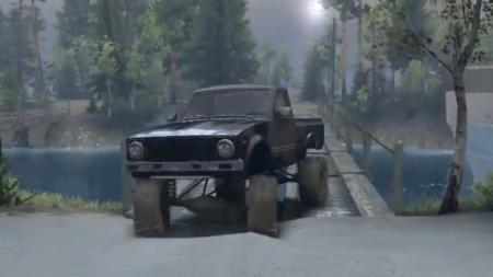 Скачать мод Toyota Hilux Truggy 1981 для Spintires 2014