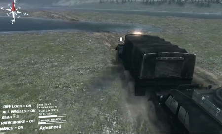 "Карта ""project one"" для SpinTires 4.02.2015"