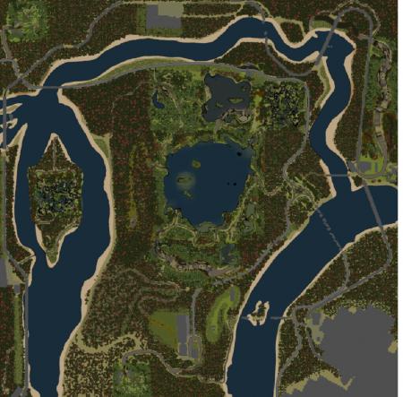 Карта Rail Road Builder для SpinTires 2015