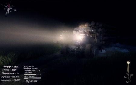 """Карта """"Черный Прижим-2"""" для SpinTires 16.1.15"""