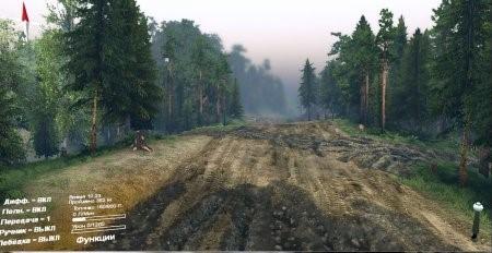 """Карта """"Русские дороги"""" для Spintires 04.02.2015"""