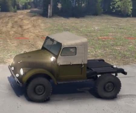 Скачать мод УАЗ 456 версия 1.0 для Spintires 2014