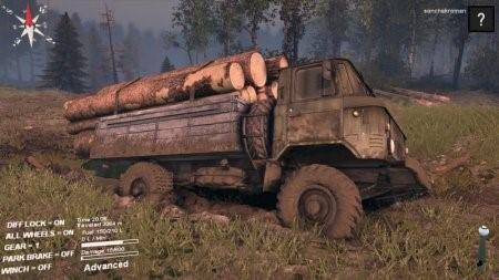 Скачать мод грузовик ГАЗ 66 Финал для Spintires 2015