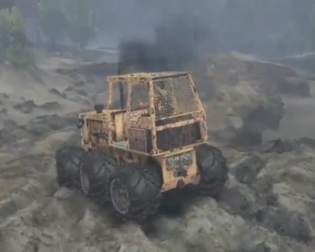 Скачать мод трактор для Spintires 2014
