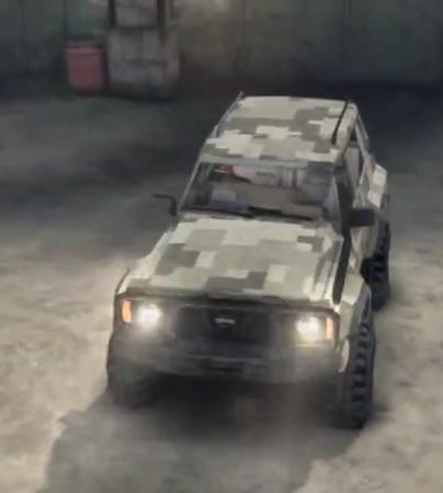 Скачать мод Nissan Patrol GR Y60. 1 для Spintires