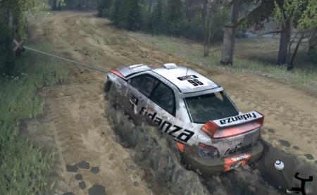 Скачать мод Subaru Impreza WRX STI 2.5 v1.0 для Spintires 2015