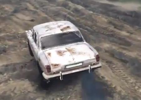Скачать мод ГАЗ 24 для Spintires 2014