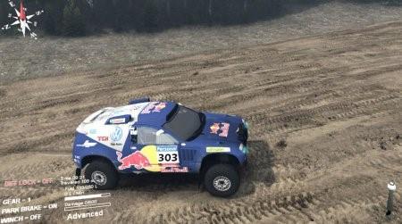 Скачать мод Volkswagen Touareg Dakar для Spintires 4.2.2015