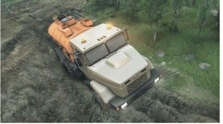 Скачать мод грузовик КрАЗ-63221 для Spintires 2015