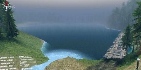 "Карта ""The Forest"" для SpinTires 4.2.15"