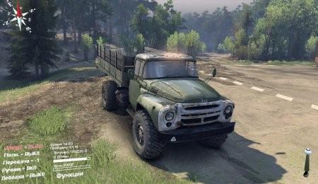 Скачать мод грузовик ЗиЛ-130 4х4 v1.0 для Spintires